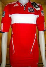 ADIDAS CHICAGO FIRE AUTHENTIC SOCCER JERSEY WOMENS M