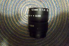 Cosmicar 12mm 1:1.4 cs TV Lens