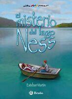 El misterio del lago Ness de Esteban Martín. Tapa Dura Libro Nuevo para Niños.