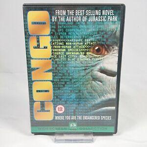 Congo - (DVD, 2000) Region 2 - Tim Curry Ernie Hudson
