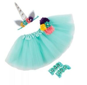 Toddler Fairy Set Skirt And Unicorn Headband