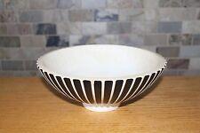 Vintage Wedgwood Matt Ribbed Large Decorative Bowl by Norman Wilson