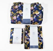 Cb2 Lani Floral King Sheet Set with 4 Extra Standard Pillow Cases - Open Package