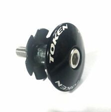 "gobike88 TOKEN TK282 Alloy Headset Cap, 1-1/8"", Black, S60"