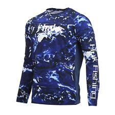Huk Men's Pursuit Camo Vented Hydro Reflex X-large Long Sleeve Shirt