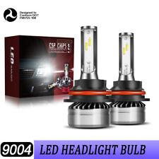 9004 LED Headlight Bulbs 6000K High Low Beam fit Dodge Ram 1500 1994-2001 DLW
