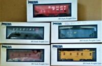 FIVE INDUSTRIAL BRAND HO SCALE FREIGHT CARS, NIB~ L0T 44