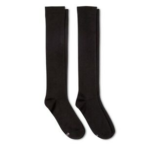 Hanes Athletic Socks 2 Pk Multi 5-9 ... BLACK