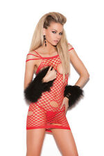 Exotic Clothing Super Sexy Cupless Net Mini Dress! One Size!