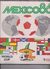 PANINI WM 1986 ITALIA-vuoto sticker album + SET COMPLETO geschweist ORIGINALE
