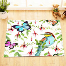 "15X23"" Kitchen Doormat Non-Slip Mat Rug Bathmats Carpet Watercolor Butterfly"