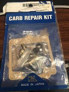 Suzuki GS750 ET/EX/EZ 1980-1982 K&L Carburetor Carb Repair Kit #18-2592