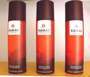 TABAC Original Deo Spray Deodorant   > 1 Posten = 3 x 200 ml