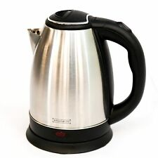 PREMIUM STAINLESS STEEL1.8L ELECTRIC KETTLE INDICATOR LIGHT 360° CORDLESS SILVER
