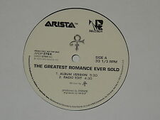 """ARTIST FORMERLY KNOWN AS PRINCE the greatest romance ever sold 12"""" RECORD PROMO"""