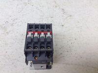 ABB N40E Relay 110/110-120 VAC Coil 4 NO