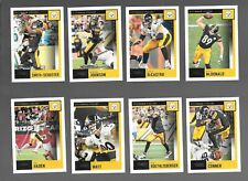 2020 SCORE FOOTBALL PITTSBURGH STEELERS TEAM SET (13) 2 RC'S,CLAYPOOL,BEN,CONNER