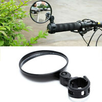 Cycling Bike Bicycle Handlebar Flexible Safe 360° Rearview Rear View Mirror NEW