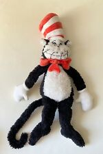 CAT IN THE HAT PLUSH LARGE 20'' SOFT TOY RARE 2001 MANHATTAN TOY DR SEUSS