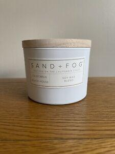 SAND + FOG Sand and Fog California Beach House Luxury Scented Home Candle 12oz