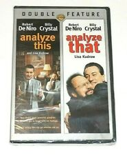 Analyze This / Analyze That Double Feature Widescreen DVD NEW