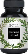 Curcuma Extrakt Kapseln - Vergleichssieger 2020 - 10.000mg Kurkuma