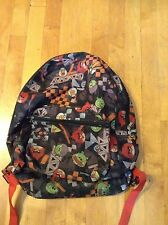 Angry Birds School Book Bag , Backpack Nap Stack Multi Colored