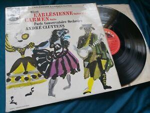 Bizet L'arlesienne / Carmen PCO/ Clutyens Columbia sax 2566 S/C ed1 sample  lp