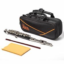 Paititi Professional Centertone Composite Wood Piccolo Flute with Premium Case