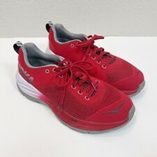 Hoka One One Mach Red Running Shoes Mens size 10