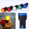 110V/220V/12V LED Pilot Panel Indicator Red/Green/Yellow Light Signal Warn Lamp