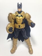 """6"""" Batman Action Figure 2011 Power Attack Turbo Punch Power USED GOOD B1 #0607"""