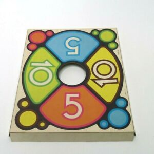 1973 Tiddlywinks Game Parts Pieces- Scoring Frame Board