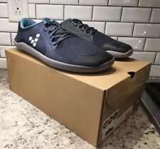 New! Vivobarefoot Primus Road M Running Shoes. EU 44 US 10.5-11 Indigo Blue Mesh