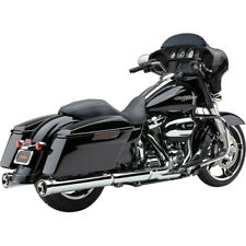 "Cobra USA 6109 Chrome Neighbor Haters 4.5"" Mufflers Slip-Ons 17-19 Harley FL"
