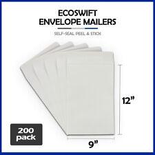 200 9x12 Ecoswift Brand Self Seal Catalog Mailing Kraft Paper Envelope
