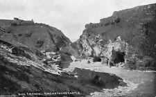TINTAGEL - King Arthur's Castle - Cornwall - Vintage Postcard (348)
