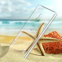 IMAK DIY Transparent Crystal Clear Slim PC Hard Case For Sony Xperia XZ2 5.7""