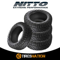 (4) New Nitto Ridge Grappler LT285/60R20/10 125/122Q Tires