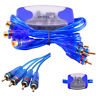 4-Channel RCA Audio Noise Hum Filter Suppressor Ground Loop Isolator Car Stereo