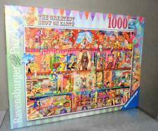 RAVENSBURGER 1000 PIECE JIGSAW -  THE GREATEST SHOW ON EARTH - CIRCUS