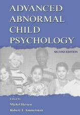 Advanced Abnormal Child Psychology (2000, Paperback, Revised)