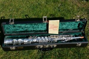 THE NEW KING KEILWERTH SOPRANO SAXOPHONE,AS NEW! REVISED!/SAX SASSOFONO SOPRANO