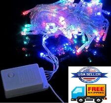 400 LED Christmas Party lights Indoor Outdoor (RGB) Red, Green, Blue 4X 32 Feet