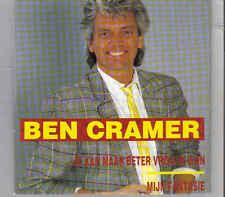 Ben Cramer-Je Kan Maar Beter Vrolijk Zijn cd single