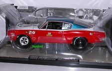 Sox Martin Ertl Supercar Collectibles 1968 Plymouth Barracuda 340 68 Mopar # 7