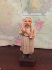 Vintage Ceramic Doctor on Wood Base Figurine General Practitioner