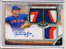 2015 TOPPS TIER ONE AUTOGRAPH DAVID WRIGHT 1/1