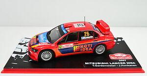 Mitsubishi Lancer WRC Rallye Monte-Carlo 2007 #26 scale 1:43