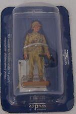 Del Prado WW2 Model Toy Soldier Warrant Officer Afrikakorps Germany